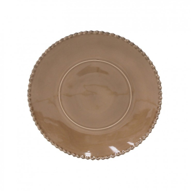PEARL RUBI CHARGER PLATE