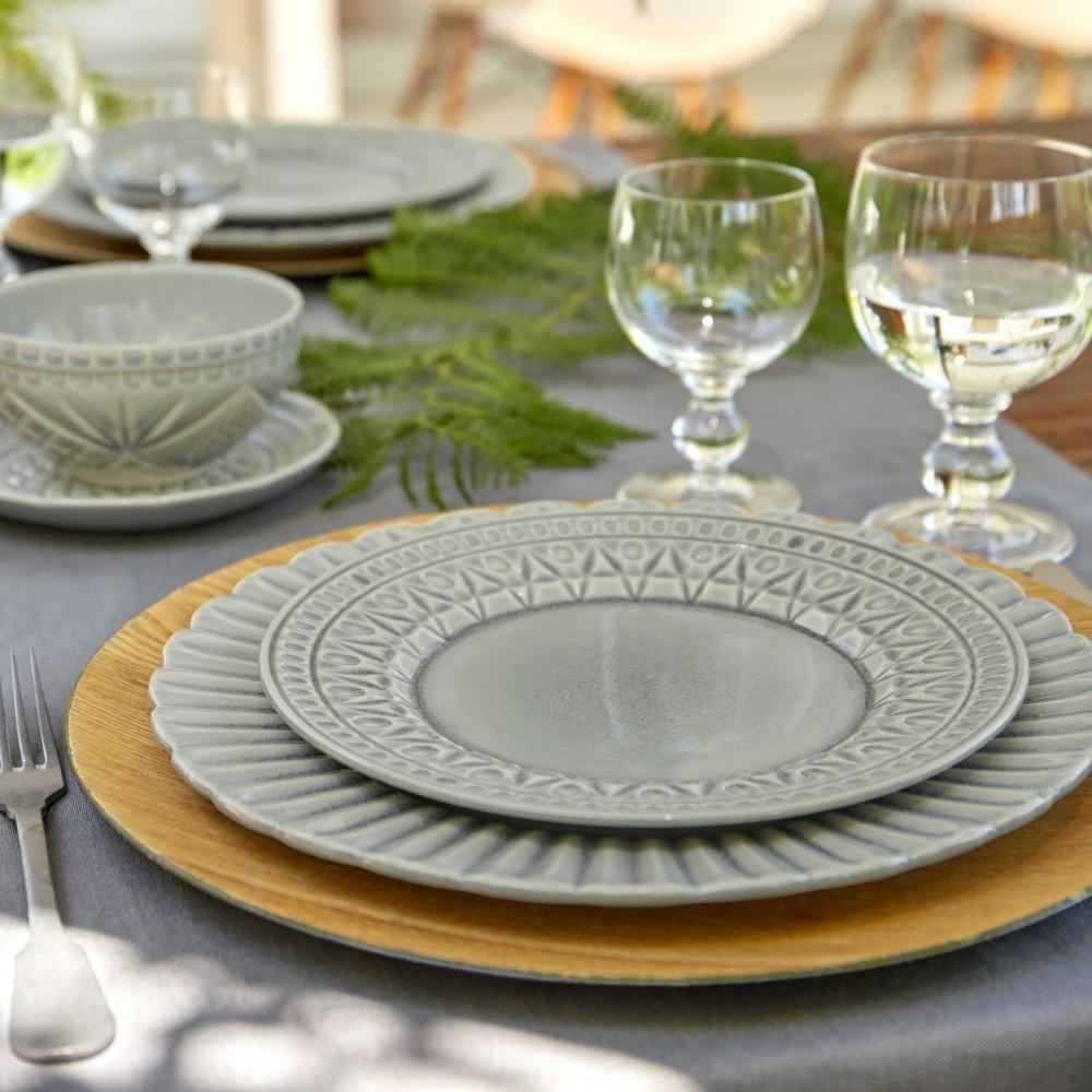 CRISTAL DINNER PLATE