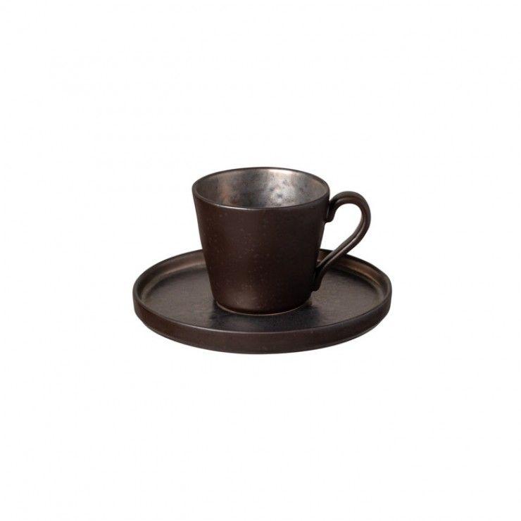 TEA CUP AND SAUCER 7 OZ. LAGOA