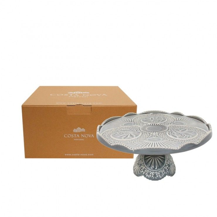GIFT FOOTED PLATE CRISTAL