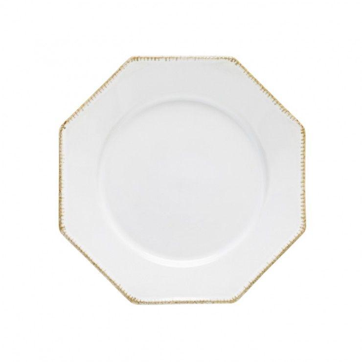 "OCT. DINNER PLATE 12"" LUZIA"