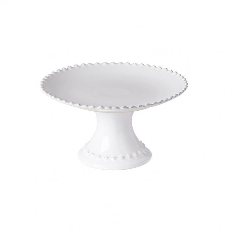 """FOOTED PLATE 9"""" PEARL"""
