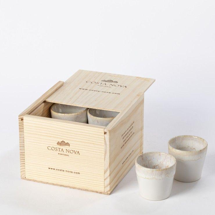 GIFT BOX 8 ESPRESSO CUPS GRESPRESSO