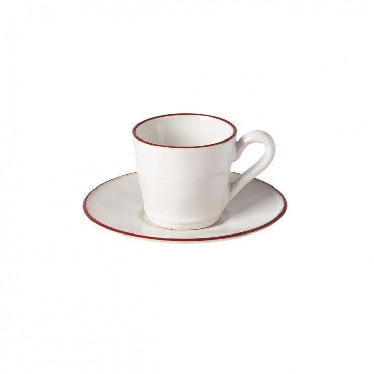 TEA CUP AND SAUCER 6 OZ. BEJA