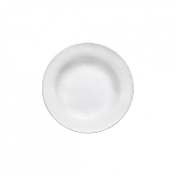 "SOUP/PASTA PLATE 8"" BEJA"